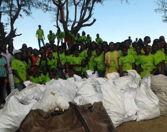 Mozambique : S'amuser en recyclant